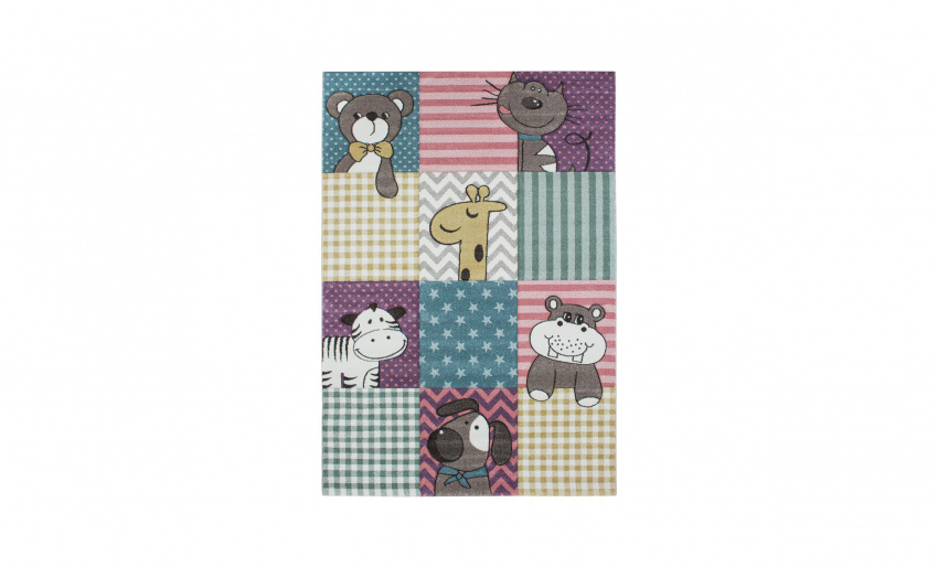 CARUBA ANIMALS Matta 120x170 Multi