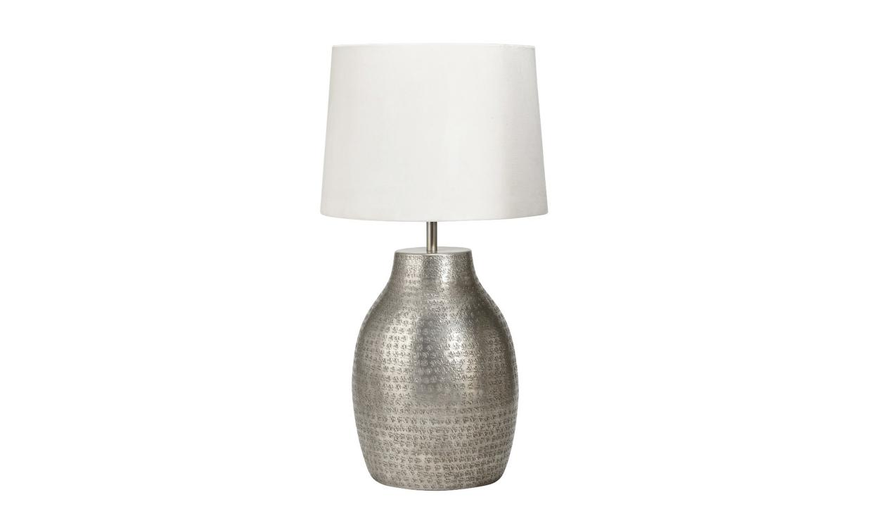 HUMPHREY Bordslampa Silver Stor