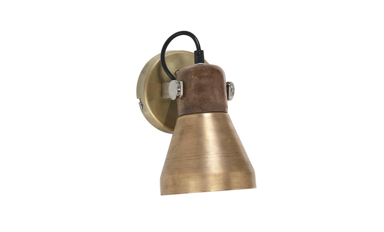 PR Home ASHBY Vägglampa Guld   Belysning