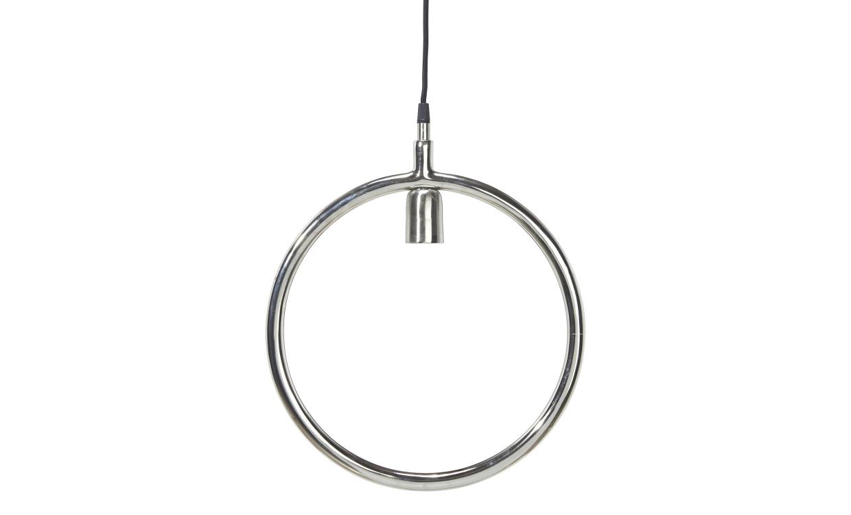 CIRCLE Taklampa Krom 35 cm
