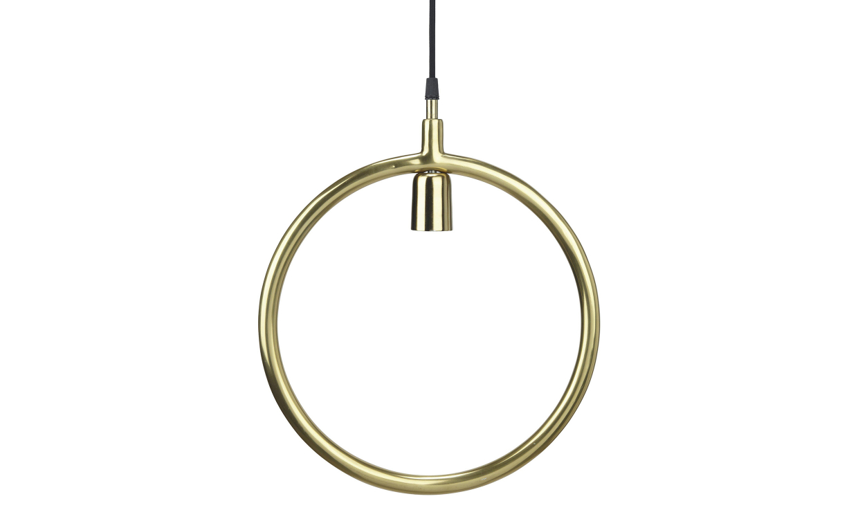 CIRCLE Taklampa Guld 35 cm