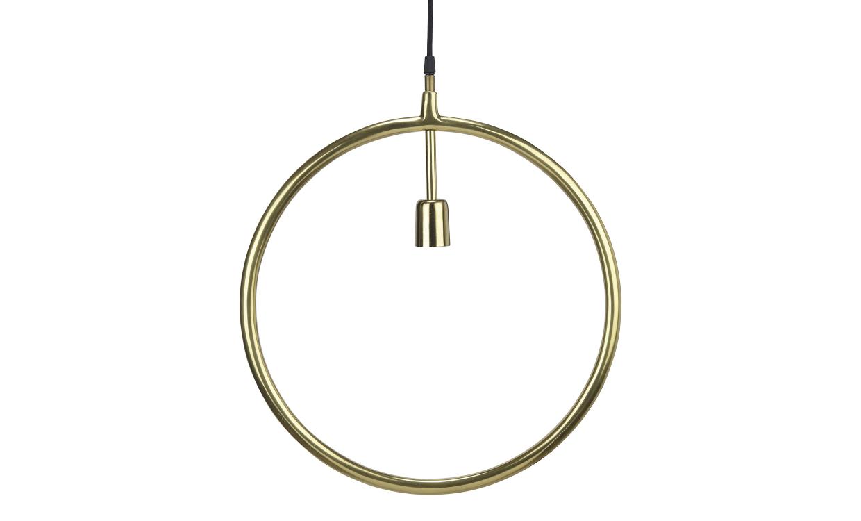 CIRCLE Taklampa Guld 45 cm