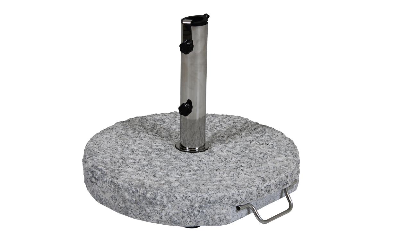 GROSSETO Parasollfot 40 kg Granit