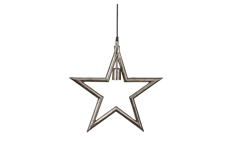 MERRY Julstjärna Råsilver 45 cm