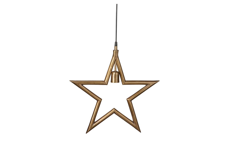 MERRY Julstjärna Råmässing 45 cm