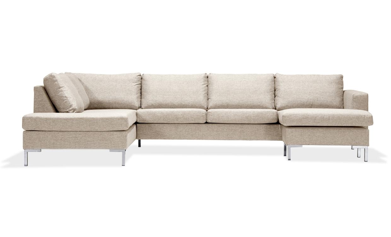 FOCUS U-soffa Vänster Beige | U-Soffor thumbnail
