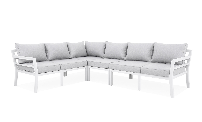 GRINDA Loungesoffa + Fåtölj