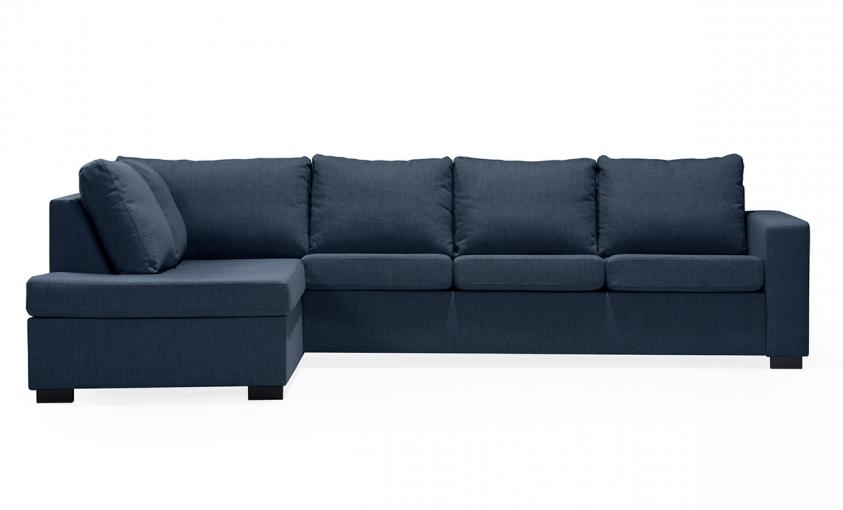 ÖLAND L-soffa Vänster Blå | Soffor thumbnail