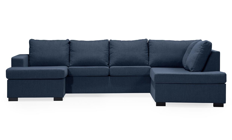 ÖLAND U-soffa Höger Blå | U-Soffor