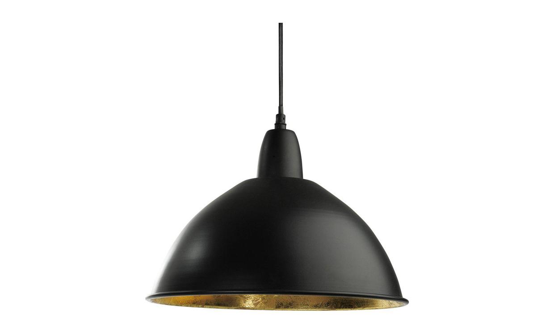 CLASSIC Taklampa Metall Svart 35 cm