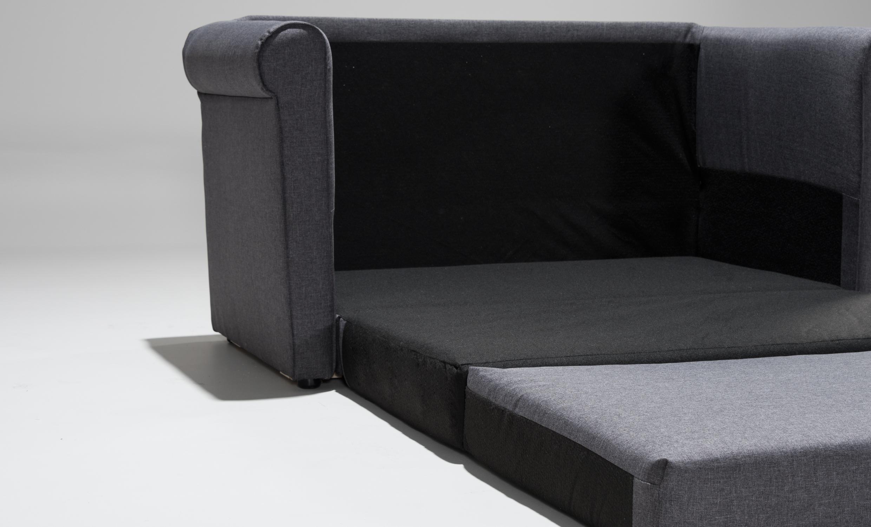 Skara Bäddsoffa Mörkgrå Köp På Soffadirekt Se