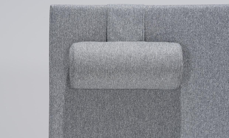 NORA 120 Sänggavel Ljusgrå Köp på SoffaDirekt se