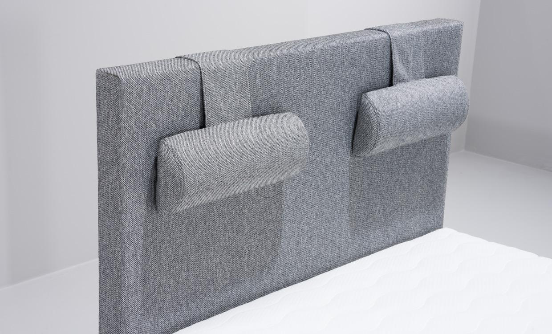 Sänggavlar 105 Cm : Nora sänggavel ljusgrå köp på soffadirekt