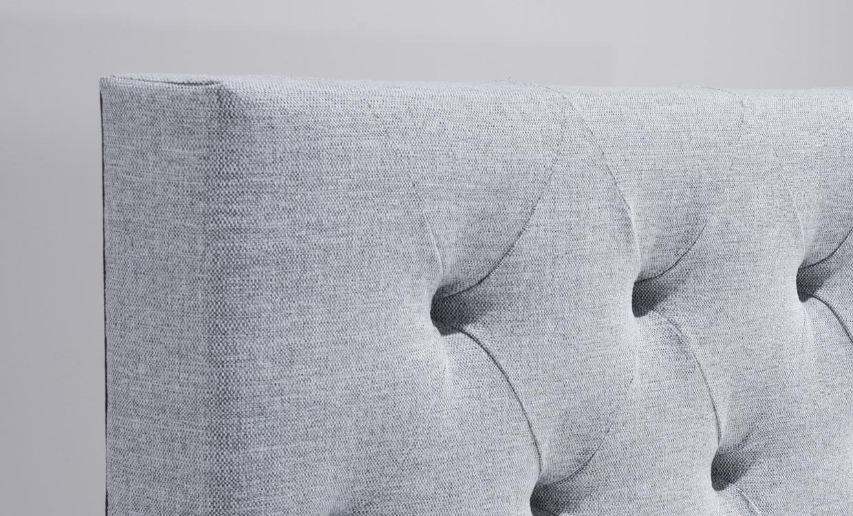 VäRMDÖ 120 Premium Sänggavel Ljusgrå Köp på SoffaDirekt se