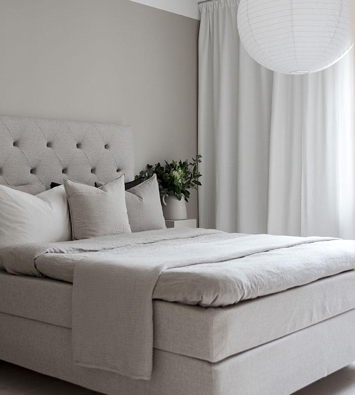 kontinental säng